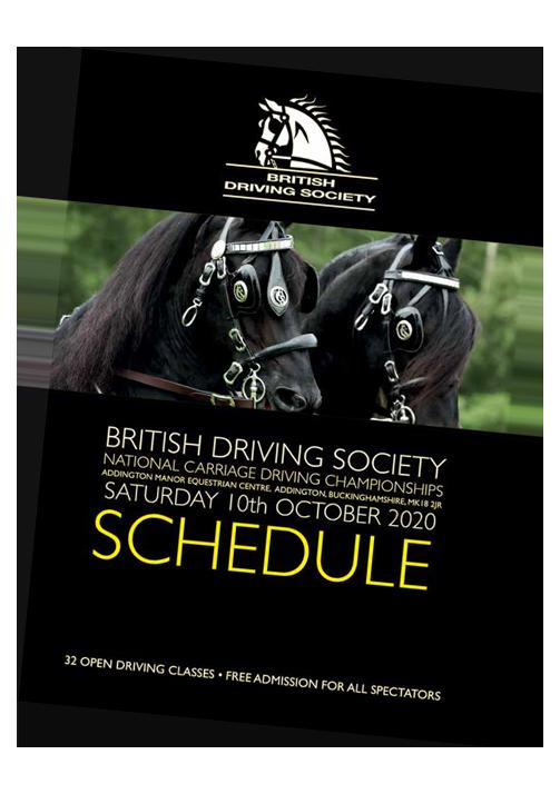 BDS Addington Schedule 2020